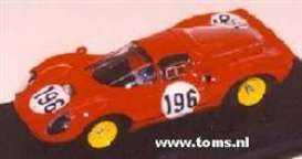 Ferrari  - 1966 red - 1:43 - Art Model - art00111 | The Diecast Company