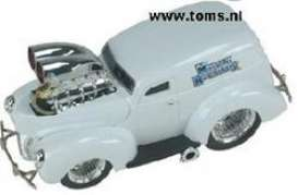 Ford  - 1940 white - 1:18 - Muscle Machines - musm61200w | The Diecast Company