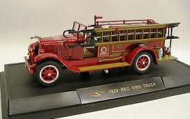 Reo  - 1928 red - 1:32 - Signature Models - sig32308 | The Diecast Company