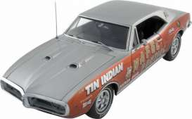Pontiac  - 1967 pearl orange/silver - 1:18 - Exact Detail - ed401 | The Diecast Company