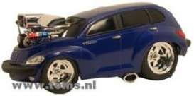 Plymouth  - 2000 midnight blue - 1:18 - Muscle Machines - musm61186b | The Diecast Company