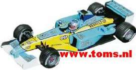 Renault  - 2002 Light Blue/Yellow - 1:18 - Universal Hobbies - UH2194 | The Diecast Company