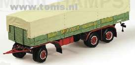 Trailer  - 1953 canvas/green - 1:43 - Minichamps - 439161095 - mc439161095 | The Diecast Company