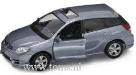 Toyota  - 2003 blue - 1:18 - Yatming - yat92518b | The Diecast Company