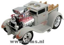 Ford  - 1929 Primer Grey - 1:18 - Muscle Machines - musm61194gr | The Diecast Company