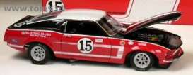 Ford  - 1969 red/white/black - 1:18 - Supercar Collectibles - super1104 | The Diecast Company