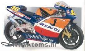 Honda  - 2003 blue/orange - 1:6 - Guiloy - guiloy16240 | The Diecast Company