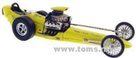 Dragster  - 1962 yellow - 1:43 - Acme Diecast - gmp14404 | The Diecast Company