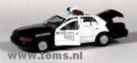 Ford  - black/white - 1:43 - Gearbox - gearbox27133 | The Diecast Company