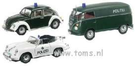 Volkswagen  - green and white - 1:43 - Schuco Junior Line - schjl3315076 | The Diecast Company