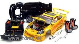 Honda  - 2002 yellow - 1:18 - Muscle Machines - musm71198EFy | The Diecast Company