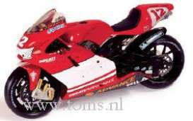 Ducati  - 2003 red/white - 1:24 - IXO Models - rab068 - ixrab068 | The Diecast Company
