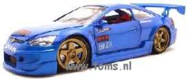 Honda  - 2003 blue - 1:24 - Muscle Machines - musm73111Ab | The Diecast Company