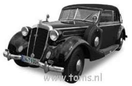 Horch  - 1937 black - 1:18 - Ricko - rica2152 | The Diecast Company