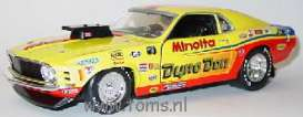 Ford  - 1970 yellow - 1:18 - MIC - mic401028002 | The Diecast Company