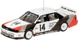 Audi  - 1988 white with Stripes - 1:43 - Minichamps - 400881314 - mc400881314 | The Diecast Company