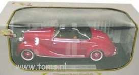 Mercedes Benz  - 1950 red - 1:18 - Signature Models - sig18123r | The Diecast Company