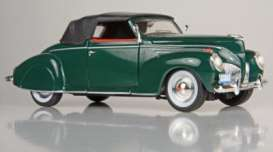 Lincoln  - 1939 green - 1:32 - Signature Models - sig32333gn | The Diecast Company