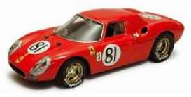 Ferrari  - 1968 red - 1:43 - Best - bes09266 | The Diecast Company