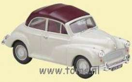 Morris  - grey/red - 1:43 - Vanguards - va07102 | The Diecast Company