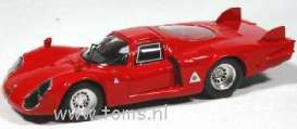 Alfa Romeo  - 1968 red - 1:43 - Best - bes09251 | The Diecast Company
