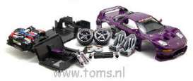 Honda  - 2004 purple - 1:18 - Muscle Machines - musm71198ABp | The Diecast Company
