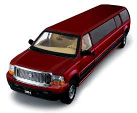 Ford  - 2004 red - 1:18 - SunStar - 3933 - sun3933 | The Diecast Company