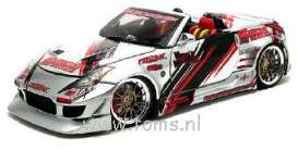 Nissan  - 2004 silver - 1:18 - Muscle Machines - musm89100ACs | The Diecast Company