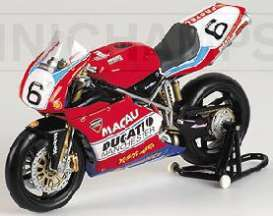 Ducati  - 2002 red - 1:12 - Minichamps - 122021296 - mc122021296 | The Diecast Company