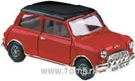 Mini  - 1959 red w/black roof - 1:43 - Vanguards - va02500 | The Diecast Company