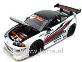 Mitsubishi  - white/black - 1:64 - Muscle Machines - mus71181CDw | The Diecast Company