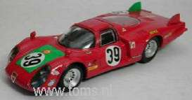 Alfa Romeo  - 1968 red - 1:43 - Best - bes09254 | The Diecast Company