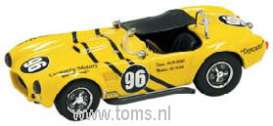 Shelby  - 1963 yellow - 1:43 - Bang - ban07292 | The Diecast Company