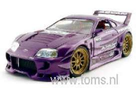 Toyota  - 1998 purple - 1:24 - Muscle Machines - musm73211Dp | The Diecast Company