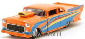 Chevrolet  - 1955 orange - 1:64 - Muscle Machines - musm71131Bo | The Diecast Company