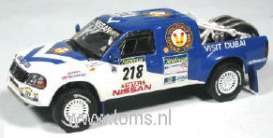 Nissan  - 2003 blue/white - 1:43 - J Collection - jmojc046 | The Diecast Company