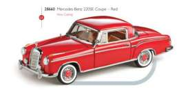 Mercedes Benz  - 1959 red - 1:43 - Vitesse SunStar - vss28660 | The Diecast Company