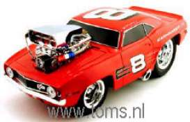 Chevrolet  - 1969  - 1:18 - Muscle Machines - musm68002-08 | The Diecast Company