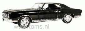 Chevrolet  - 1970 tuxedo black - 1:18 - ERTL - ertl33773 | The Diecast Company