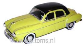 Renault  - 1956 yellow/black - 1:43 - Nostalgie - nost025c | The Diecast Company
