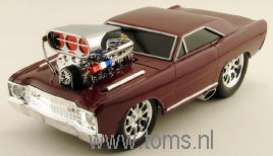 Dodge  - 1968 wineberry pearl (dar - 1:18 - Muscle Machines - musm69028ABr | The Diecast Company