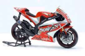 Yamaha  - red/white - 1:10 - Guiloy - guiloy13665 | The Diecast Company