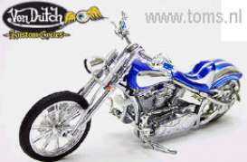 Von Dutch  - blue - 1:10 - Jada Toys - 90089b - jada90089b | The Diecast Company
