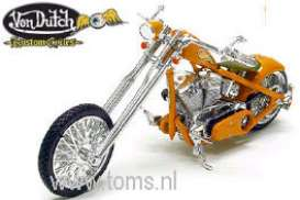 Von Dutch  - orange - 1:18 - Jada Toys - 90094o - jada90094o | The Diecast Company