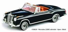 Mercedes Benz  - 1959 black - 1:43 - Vitesse SunStar - vss28620 | The Diecast Company
