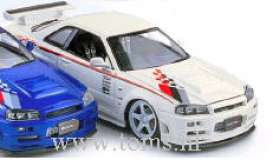 Nissan  - 2003 white - 1:24 - Auto Pro Shop Hotworks - ms42403w | The Diecast Company