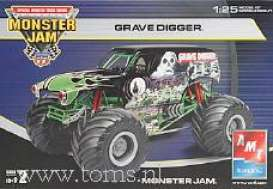 Monster Jam  - 1:25 - AMT - s38184 - amts38184 | The Diecast Company
