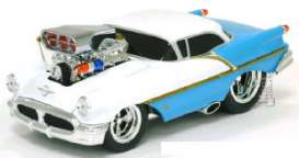 Oldsmobile  - 1956 sea blue - 1:18 - Muscle Machines - musm69020ABb | The Diecast Company