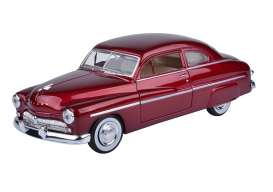 Mercury  - 1949 metallic red - 1:24 - Motor Max - 73225mr - mmax73225mr | The Diecast Company