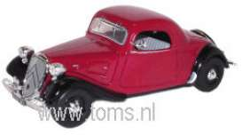 Citroen  - 1935 red/black - 1:43 - Nostalgie - nost022 | The Diecast Company